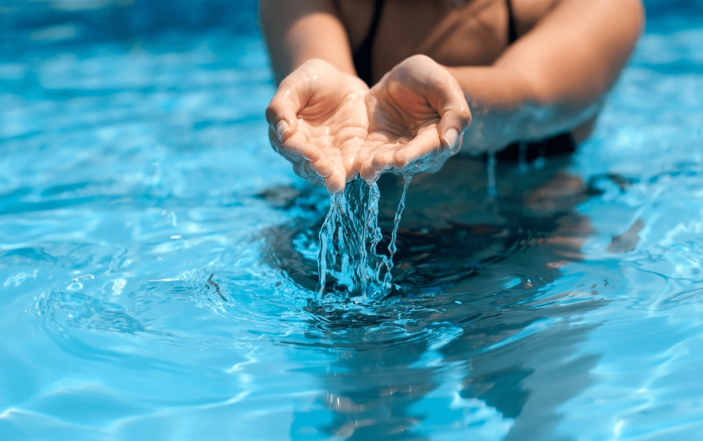 Анализ воды из бассейна